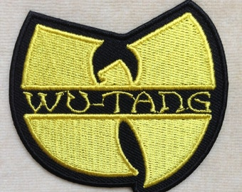 Wu Tang Clan Band Logo Iron On Patch