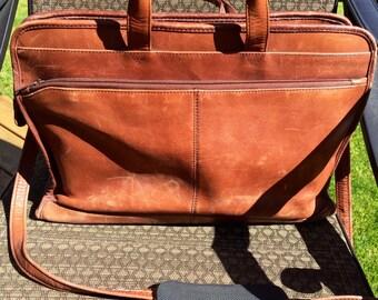 Heritage Genuine Leather Briefcase