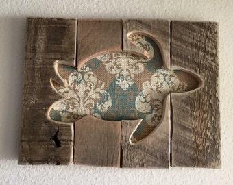 Sea Turtle Art Wall Decor