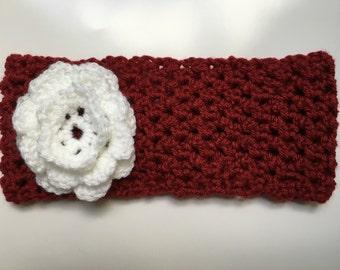 Handmade crocheted head band