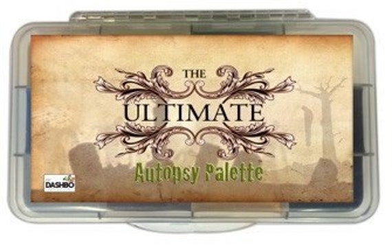 The Ultimate Autopsy Palette Dashbo's Prosthetic Makeup Collection