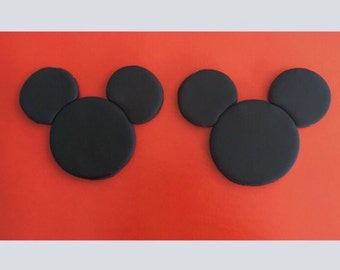 12 Mouse Cupcake Toppers