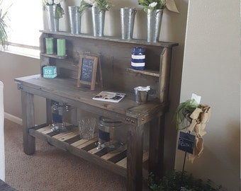 Side table buffet