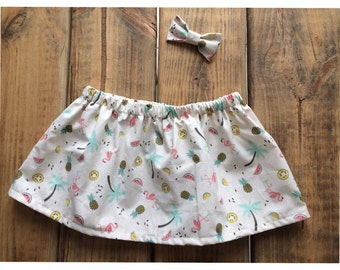 Skirt Flemish pineapple