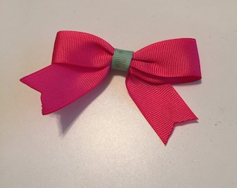 Small Clip Bow with Tails