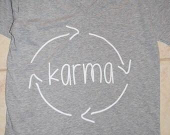 Karma Adult Tee