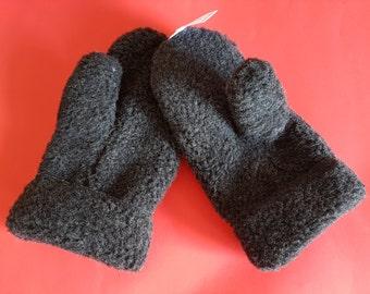 men gloves/men mittens/100% Organic wool gloves/handmade mittens/thumb mittens