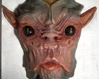 Curiosity: Half mask