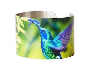 Hummingbird Cuff