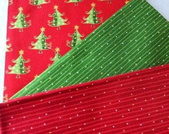 Christmas fabric bundle