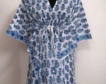 Short kaftan , Kaftan Dress, Best Gift For her, Short poncho, Maxi Dress, Summer Dress, Women Dress, Beach Kaftan