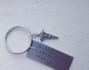 Christina Yang Greys Anatomy Keychain