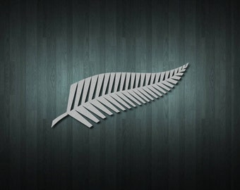 New Zealand Silver Fern Stickers