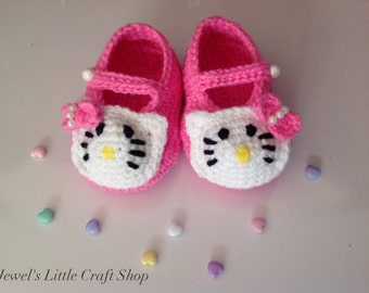 Dainty Hello Kitty Baby Sandal Booties
