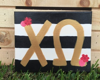 Chi Omega Painting
