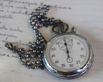 Vintage Necklace Watch
