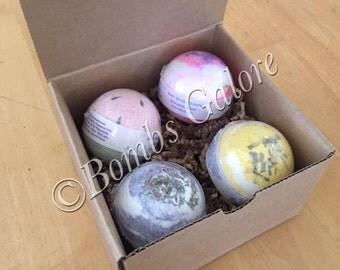 Bath Bomb Boxed Gift Set