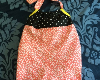 Toddler, baby, girls, romper,Bubble  suit, playsuit, red, black, polkadots