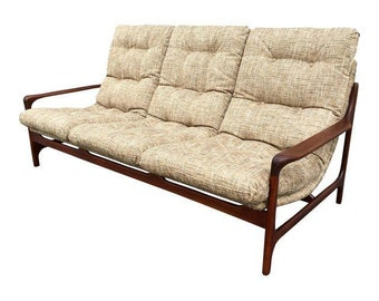 Danish Mid Century Modern Space Age Sofa
