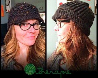 Handknit newsboy hat  can be made in any color