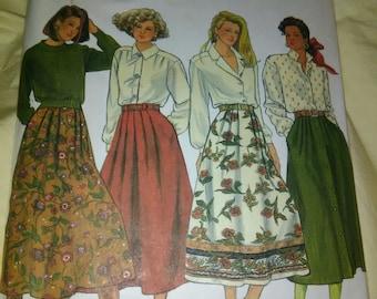 Simplicity 9879, 1990s Skirt Pattern