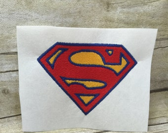 Superman Logo Embroidery Design, Superman Embroidery Design