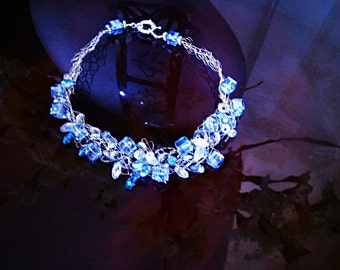 Crystal Necklace design by Erika Hadeed