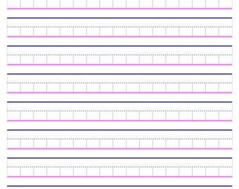 Block Paper for Better Handwriting