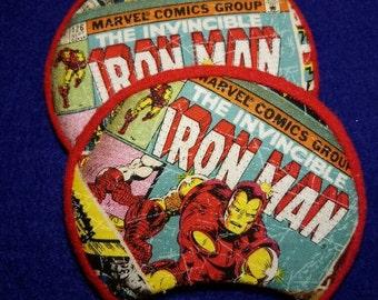 Iron Man inspired fantasy ears