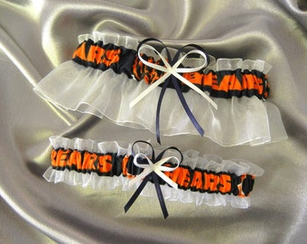 Chicago Bears Garter Set