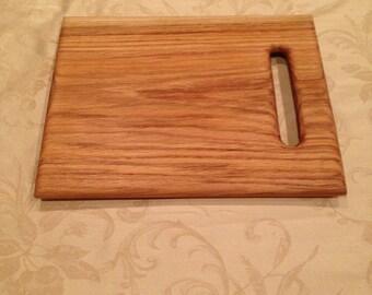 """11"""" x 14"""" oak cutting board"""