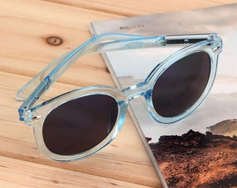 Summer Cool Eyewear Fashion Women Lovely Retro Round Frame Sunglasses