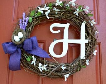 Spring Has Sprung Easter Wreath