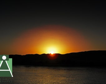 Sunset over The Nile - Egypt