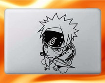 Naruto and his Shuriken Anime Inspired Laptop/Macbook Vinyl Decal