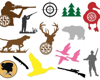 Hunter  ,Target Svg, Hunting Silhouette , Instant Downloads,Format for Cricut and Silhouette