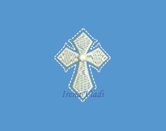 Cross Christian - Machine Embroidery design 4x4hoop - 3 sizes, Cross Embroidery, Cross Emroidery design, Religious Embroidery, Church Cross