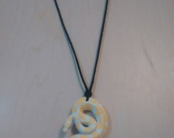 Necklace snake made by hand