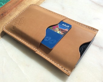 Leather iPhone & Card Wallet / Case