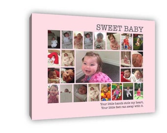 Sweet Baby Photo Canvas