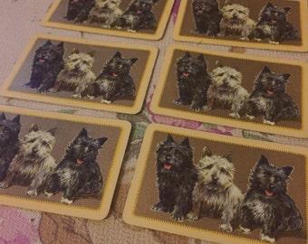 Vintage dog cards
