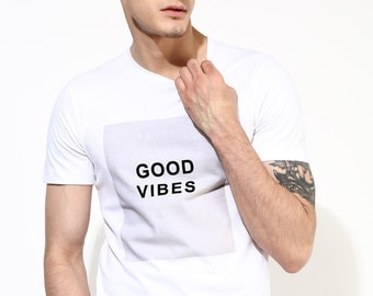 Fathers Day Gift Mens T Shirt Printed Men's T-Shirt FREE SHIPPING Ethical Gifts