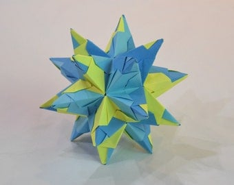 Blue/Yellow Bascetta Star