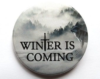 Winter is coming badge