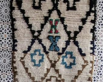 azilal rug Area rug vintage rug, moroccan rug, rug, carpet, azilal, berber teppich C05