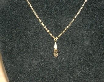 Swarovski Crystal Drop Pendant.