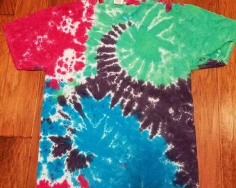 New tie dye shirt mens large