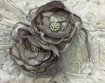 Charcoal Grey Headband