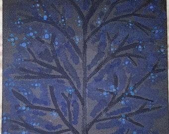 Forever Blue Blossoms