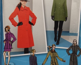 Simplicity 2057 Project Runway Coat and Jacket Sewing Pattern 12-20